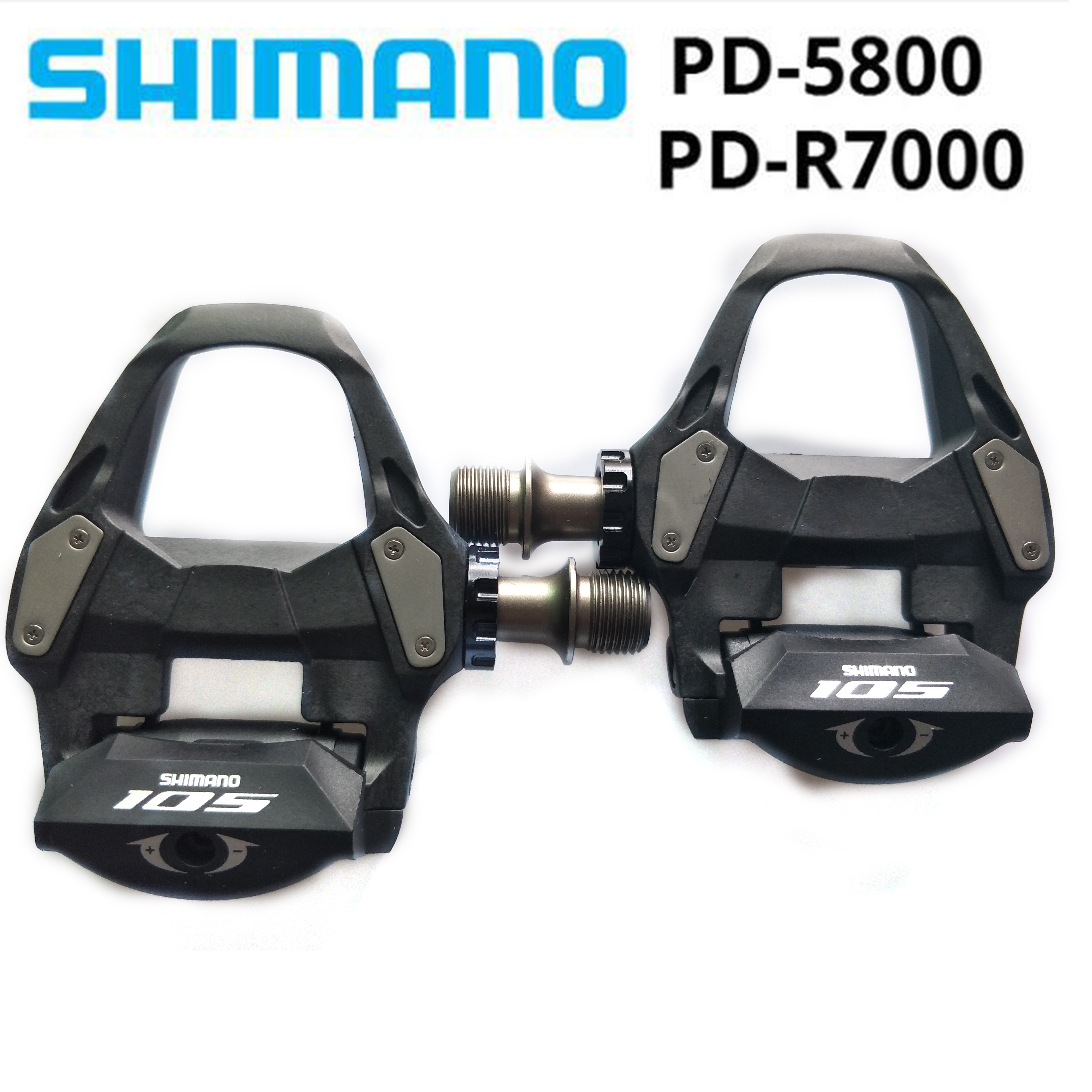 2019 new SHIMANO 105 PD5800 R7000 Self Locking SPD Pedals with SH11 Cleats Bicycle Racing Road