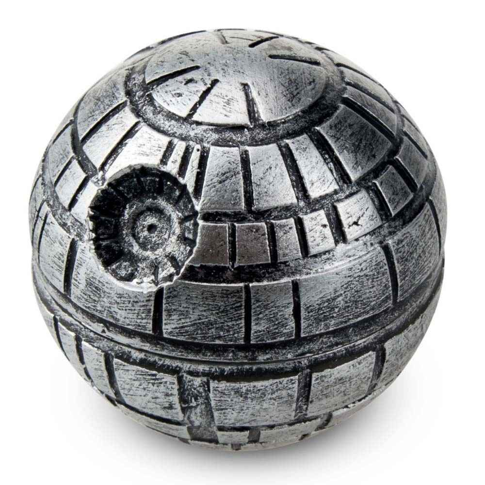 3 camadas de Star Wars Death Star liga de Zinco Herb Spice Grinder Crusher Moedor De Fumo 50mm