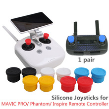 Remote Controller Joysticks Silicone Rocker Cover Pitman for DJI MAVIC PRO/ Phantom 3 4/ Inspire/ YUNEEC Q500 H480/ FLYSKY