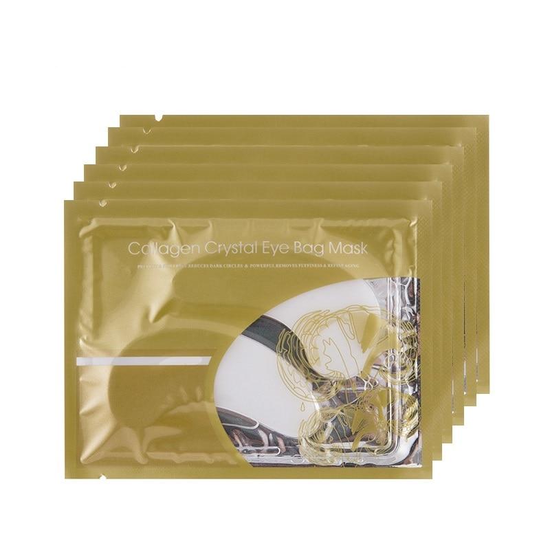 5pair=10pcs Crystal Collagen Eye Mask Eyelid Patch Anti Wrinkle Moisture Dark Circle Remove Eye Bags Gel Eye Pad Face Care Masks