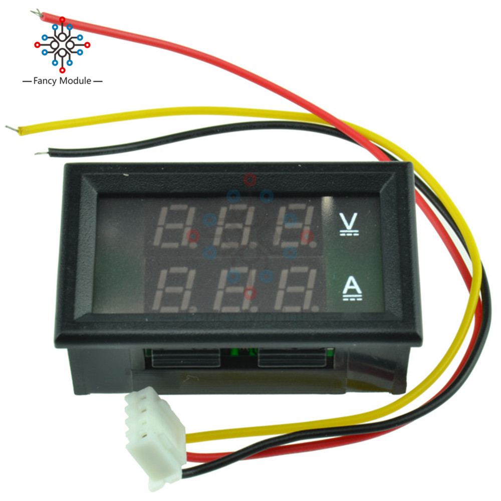 Dc 4.5-30v 0-50a Dual Led Digital Voltmeter Volt Meter Ammeter Voltage Amp Power Meter 12v Elegant Appearance Tools