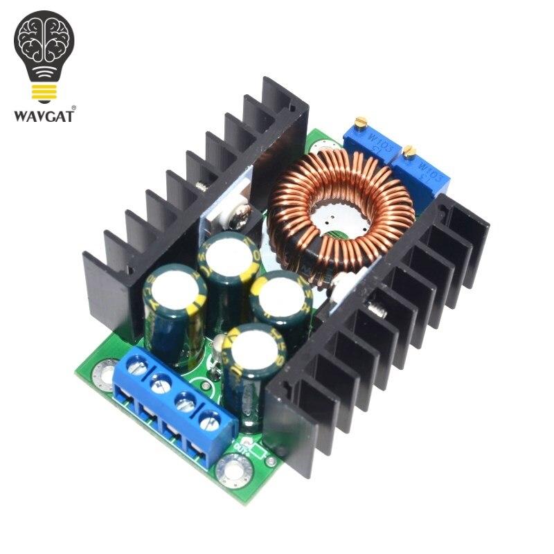 Bricolage WAVGAT unité électrique haute qualité C-D C CC CV Buck convertisseur abaisseur Module d'alimentation 7-32V à 0.8-28V 12A 300W XL4016