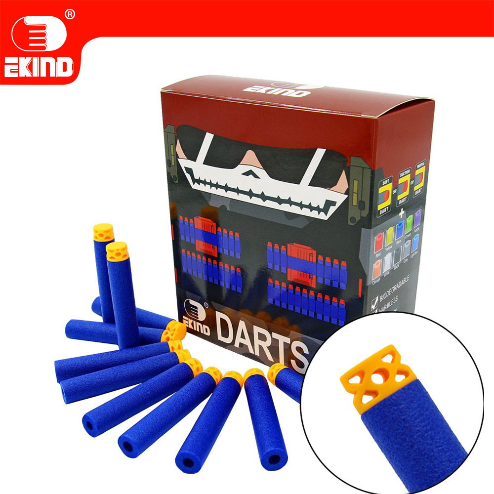 Waffle Darts 100pcs 7.2cm Refill For Nerf Series Blasters Kid Toy Gun