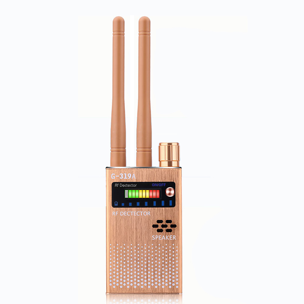 RF Signal Detector Full Range Wireless GSM GPS Tracker Device Finder Full-Frequency Detector Audio Bug Detector