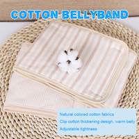 Baby Bellyband Newborn Baby Kids Bibs Infant Burps Cloths Soft Cute Cotton Belly Button Protector Band Soft Navel Guard Belly