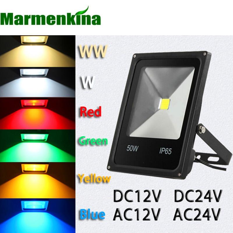 10W 20w 30w 50w 70w 100w LED flood lamp DC/AC12V DC/AC24V LED flood light projector light LED outdoor light