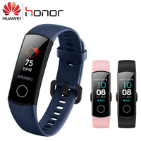 100% Original Huawei Honor Band 4 smart wristband remote control camera color Amoled 0.95 touch screen swimming posture detecti