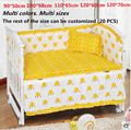 5 Pcs berço cama conjunto miúdos cama definir bebê recém-nascido jogo de cama berço bumper berço set bebê bumper cama 6z
