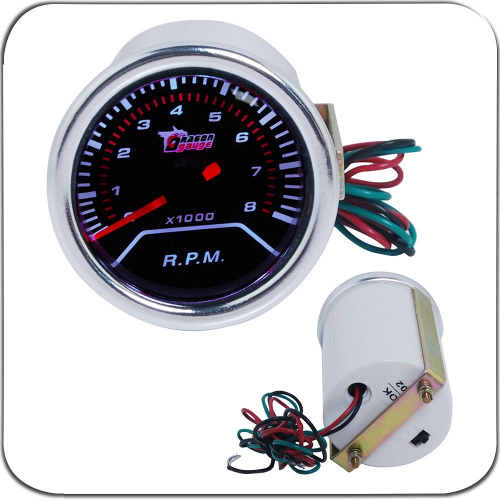 Universal Auto Gauges : Quot mm universal tachometer rpm car gauge meter auto