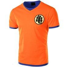 Euro Size Dragon Ball T Shirt Men 2017 Summer Dragon Ball Z Mens Slim Fit Cosplay 3D T Shirts Casual Cotton Tshirt Homme