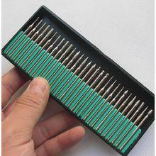 цена на 90pcs 3 Boxes Alloy Grinding Head Gel Nail DIY Polish Burnish Shine Tool Electric Grinding Mill Dedicated Emery Grinding Needle
