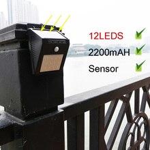 LEDS Solar light Perfect quality LED Solar Outdoor lighting Good convertion solar panel Powerful solar garden lights Sensor