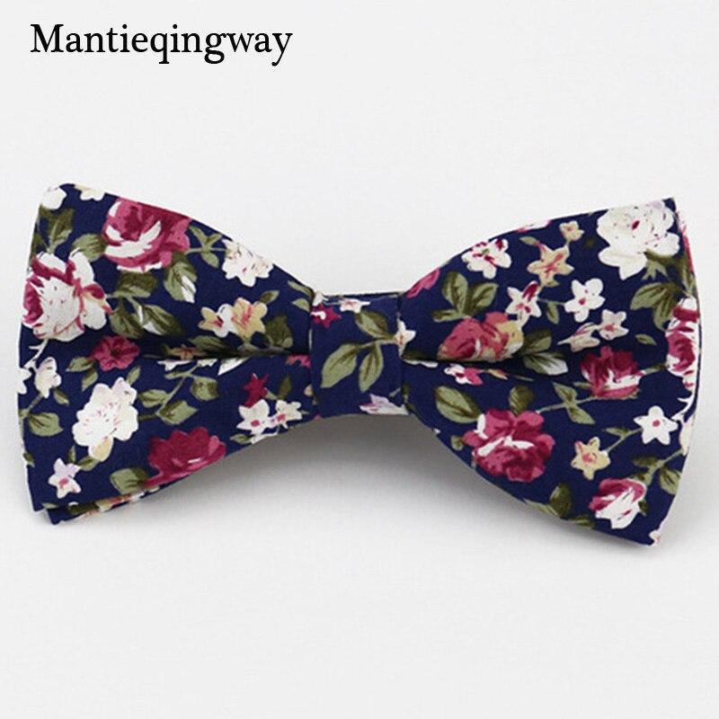Mantieqingway algodón de los hombres de la marca Bowtie Popular ropa - Accesorios para la ropa