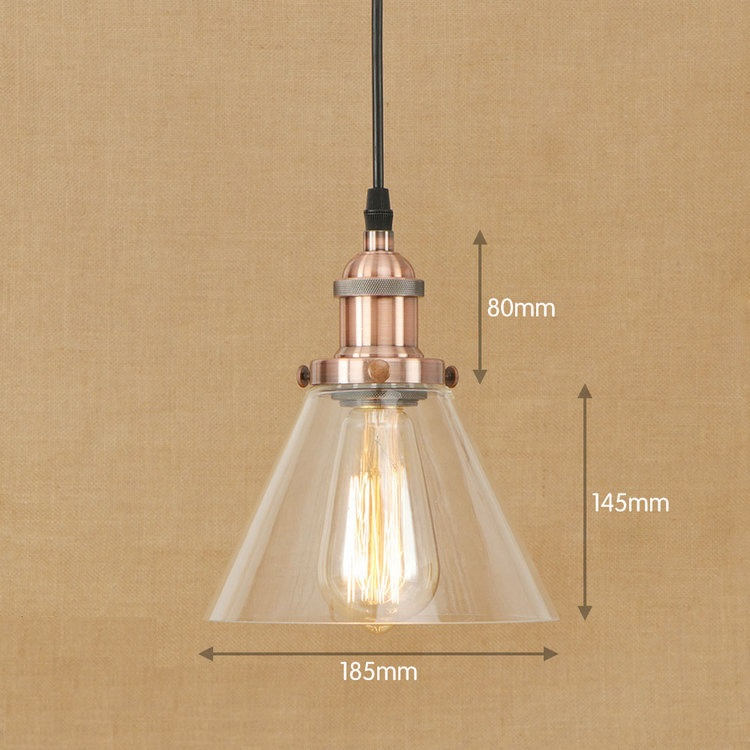 IWHD Glass Suspension Luminaire LED Pendant Lamp Loft Vintage Retro Pendant Light Fixtures Home Lighting e27 220V For decor iwhd loft vintage led wall lamp glass lampshade retro industrial wall lights bedside light fixtures for home lighting luminaire