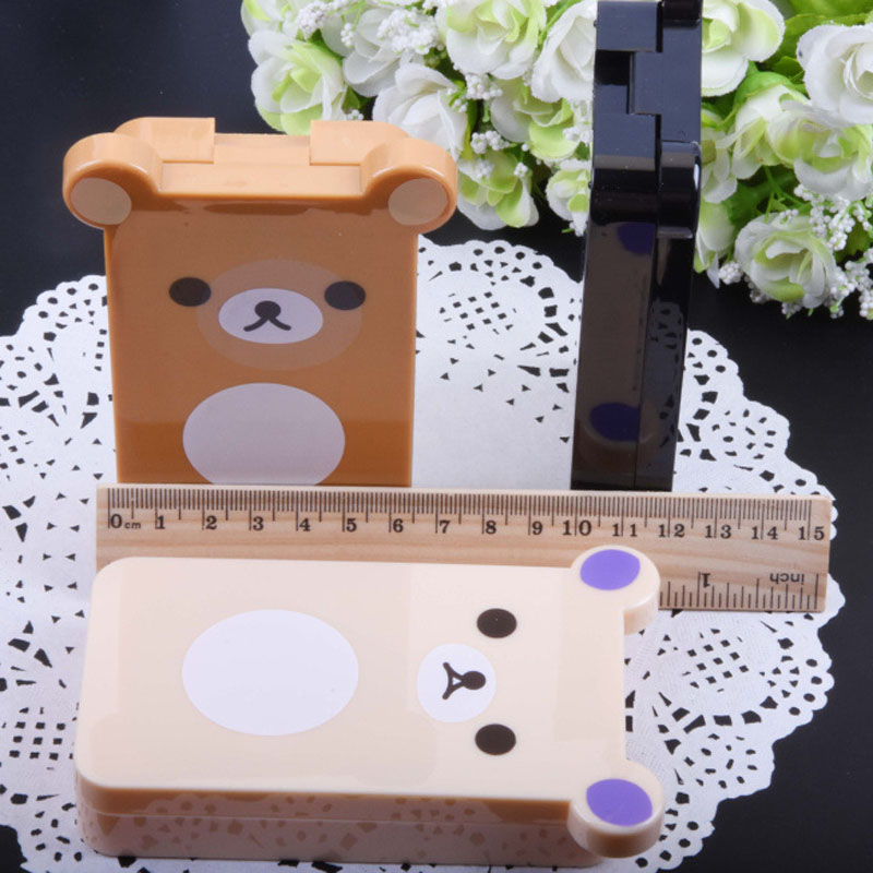 New Fashion Cute Style Mini Panda Shape Contact Lens Case Travel Kit Easy Carry Mirror Container Drop Shipping F0150