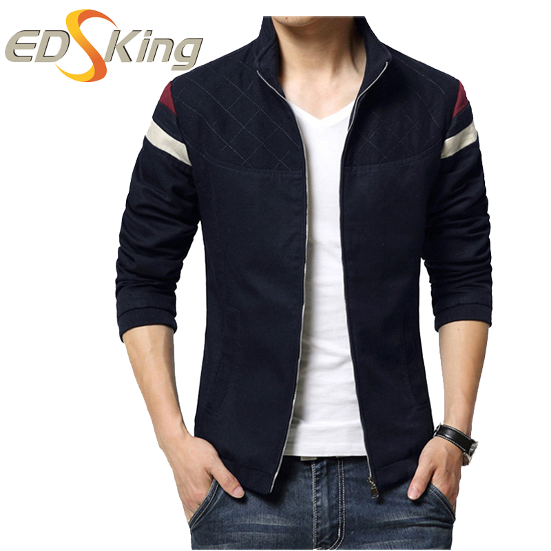 New 2017 Men Autumn Jacket Fashion Korean Slim Fit Abrigos