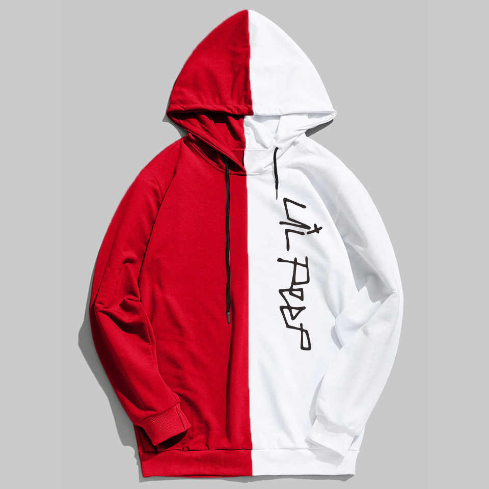 KELUOXIN Rap Lil Peep Áo Người Phụ Nữ Hài Hước Thời Trang Dạo Phố Chắp Vá Harajuku Hip Hop May Cry Bé Lil Peep Hoodies Sudaderas
