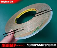 10mm 55M 0 13mm Thickness Double Sided Pure Adhesive Film Tape High Temperature Withstand For Soft