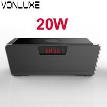 Gran Potencia 20 W Altavoz Bluetooth Estéreo Inalámbrico de Altavoces Super Bass HIFI grado Lossless Músicas Juego para Teléfono de la Computadora