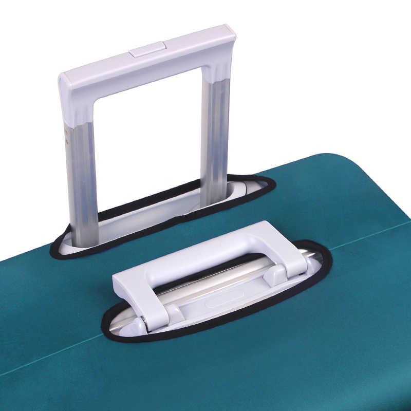 Плотный защитный чехол для багажа, эластичный чехол для чемодана 18-32 дюйма, дорожный аксессуар
