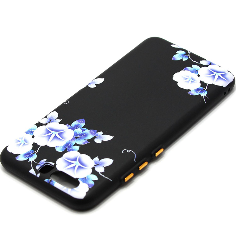3D Relief flower silicone  case huawei p10 (41)