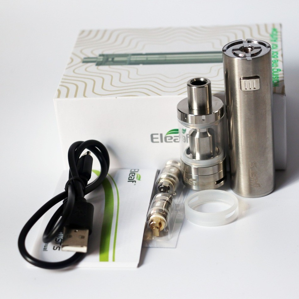Eleaf-iJust-S-Full-Kit-3000mah-Battery-4ml-Atomizer-Top-E-liquid-Filling-electronic-cigarette-kit