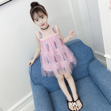 купить Girls Frocks Kids 2019 Dress Summer Girls Clothes Wedding Party Formal Children Dress Kids Dresses Girl Summer Dress  Princess по цене 768.88 рублей