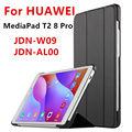 Чехол Для Huawei MediaPad T2 8 Pro Смарт обложка Искусственного кожа Защитная Для HUAWEI Honor 2 JDN-W09 JDN-AL00 Случае протектор