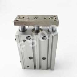 AIRTAC sottile Con barra di guida A Tre assi cilindro TCM80X125S TCM80X150S TCM80X175S TCM80X200S TCM80X250S TCM80X300S TCM serie