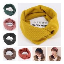 winter adult Hairband crochet knitted Wool headbands for hair head band turban headband head wrap bands ribbon women accessories все цены