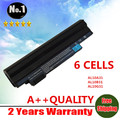 WHOLESALE New laptop battery for Acer ASPIRE ONE  D255 D260 AL10B31 AL10A31 AL10G31  6 CELLS Free shipping