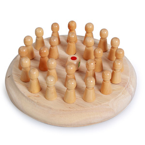 Image 3 - Kids party game Wooden Memory Match Stick Chess Game Fun Block Board Game Educational Color Cognitive Ability Toy for Children
