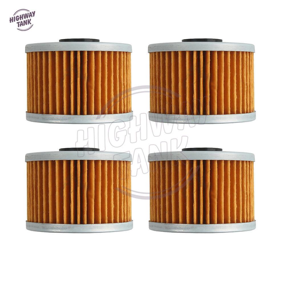 4 pcs motorcycle oil filter case for honda xr650l 1993 2009 gb500 1989 1990