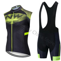 2019 NW Pro Outdoor Sport Cycling Clothing Set Sleeveless MTB Bike Cycling Jersey Mens Bicycle Ropa Maillot Ciclismo Northwave