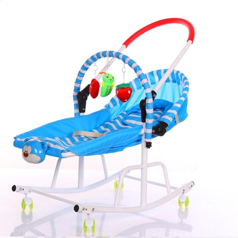 New blue cradle