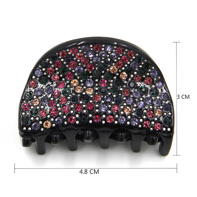 Full Luxury Rhinestone Sparkling Hair Claw Clip Accessories For Hair Noble Hair jewelry For Women Girls Gifts Tiara (EY820011)