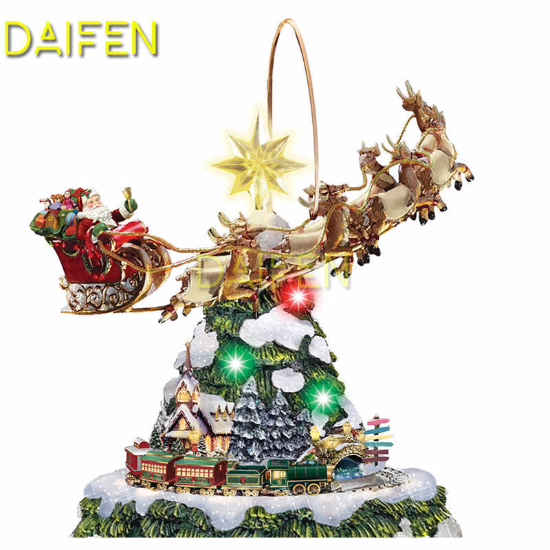 DIY 3D Diamond mosaic Full Round Diamond painting Cross stitch Full Square Diamond embroidery Christmas tree train reindeer