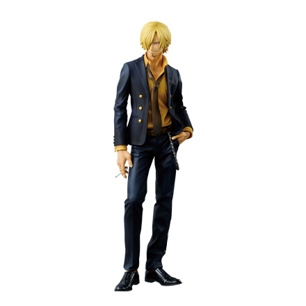 30CM big size Japanese anime figure one piece Sanji action figure collectible model toys for boys japanese anime one piece original megahouse mh variable action heroes complete action figure dracule mihawk