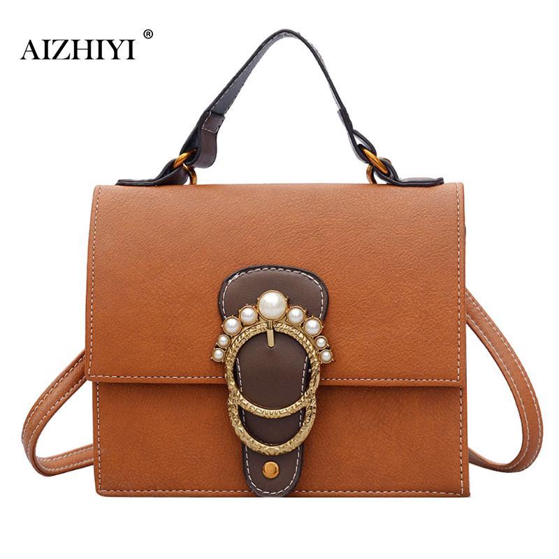 Women Handbags Pearl Clutch PU Leather Chain Messenger Bag Ladies Crossbody Bag Chain Small Trendy Color Generous Handbag