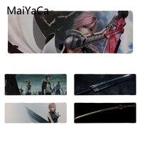 MaiYaCa Vintage Serin Final Fantasy Kılıç için Silikon Pedi Fare Oyunu Boyutu 30*80 cm/11.8*31.5 inç Küçük Mousemat