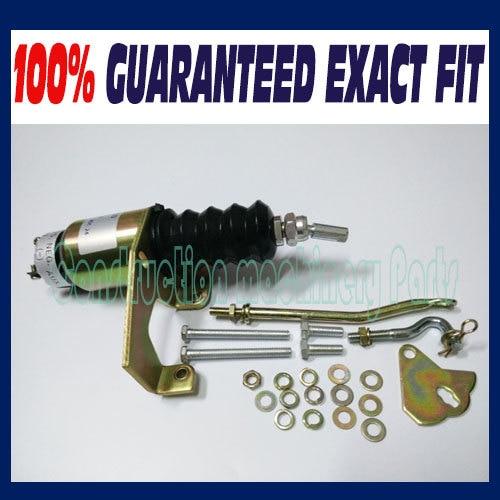 Solenoid Shutdown Kits RSV 9883038 SA-3800-24 1751-24 Volt Right-hand SA-3800 3924450 2001es 12 fuel shutdown solenoid valve for cummins hitachi