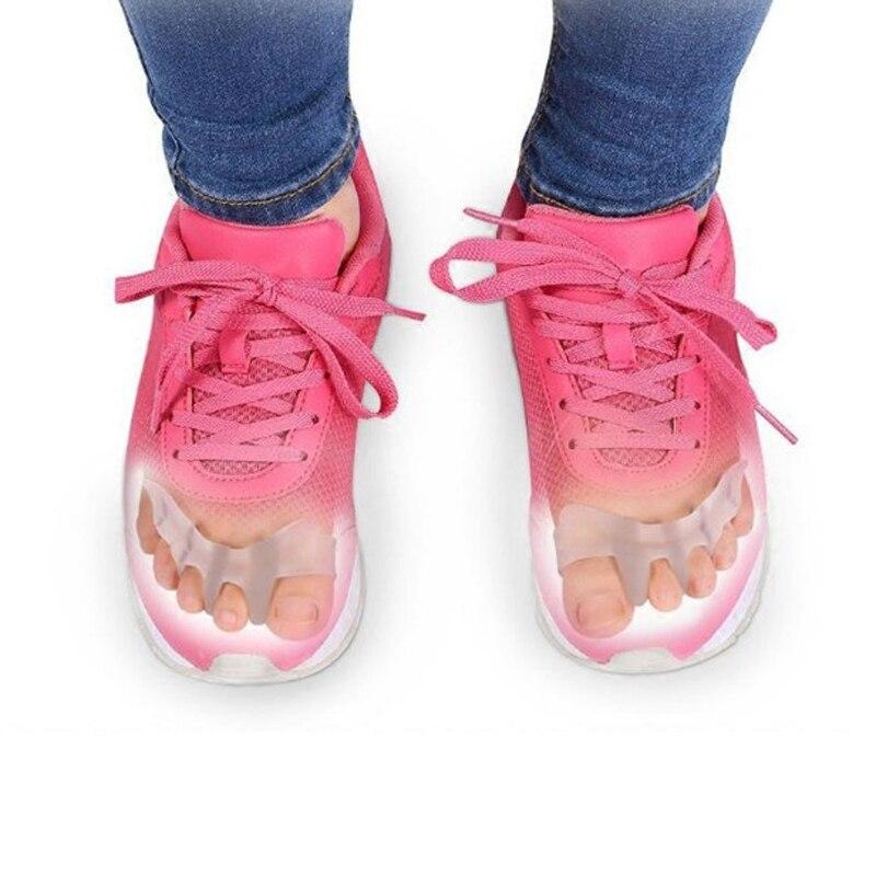 Ортопедические устройство может Обувь взрослых большой перекрытия носок немного пальца Valgus Ортез массаж