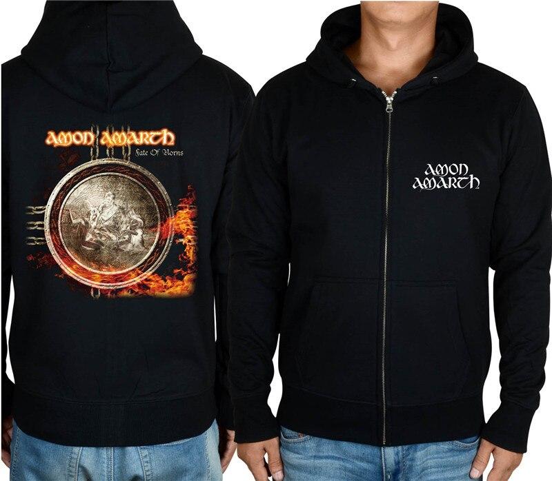21 конструкции Амон рок молния хлопковые толстовки куртка sudadera панк тяжелый металл 3D череп флис Викинг Толстовка - Цвет: 6