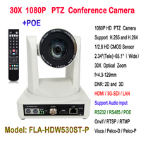 Conference System Professional 60Fps 30X optical zoom 1080P HDMI 3G SDI HD IP POE Video Camera