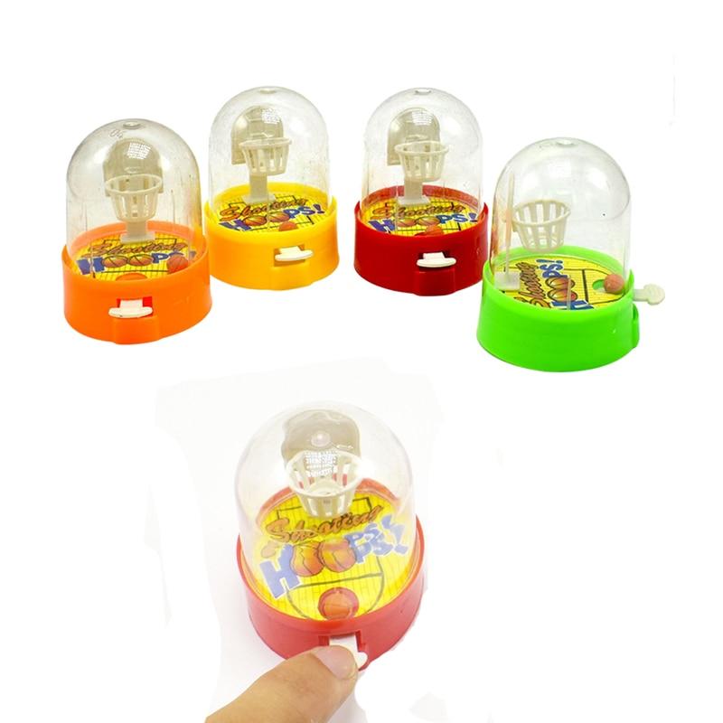 Mini Shooting Toys Finger Shooting Machine Desktop Games Kids Toys Training Interest Toys for Children Gifts Random Color