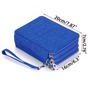 Image 5 - Oxford Penalty School Pencil Case Big Pen Case Bag 72 Holes Pencilcase 3 Layer Pencil Box Pouch for Girls Boys Art Stationery