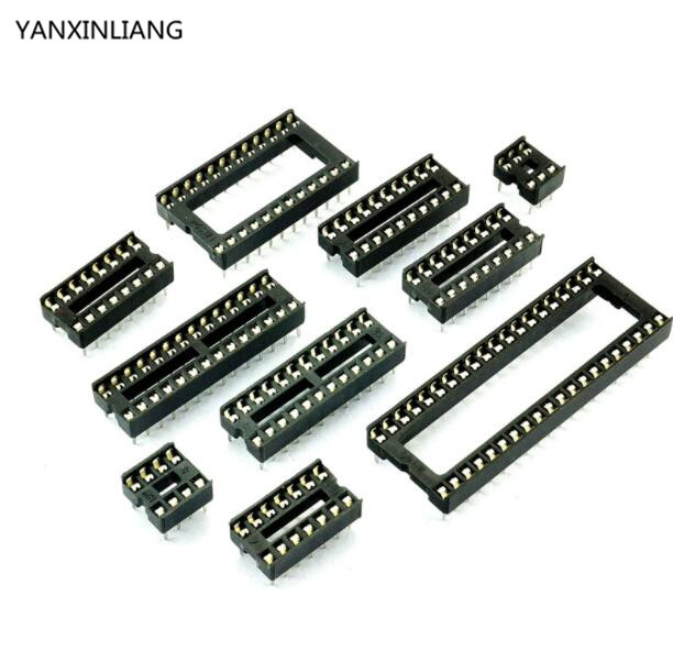 10PCS IC Integrated Circuit 16 Pin DIP IC Sockets