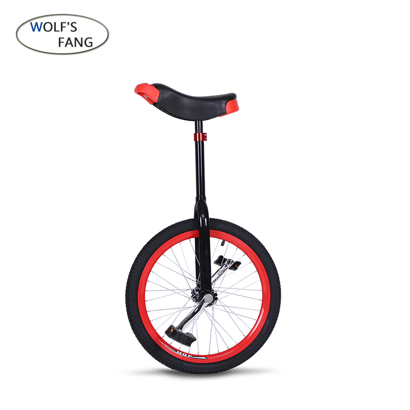Vélo VTT vtt 20 pouces Seule roue Vélo en aluminium roue brouette Sport monocycle Roue Épaule Seule Roue bmx