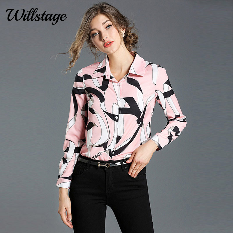 Womens Tops and Blouses 2019 Long Sleeve Shirts Tunic Casual Ladies Top Clothes Elegant Clothing