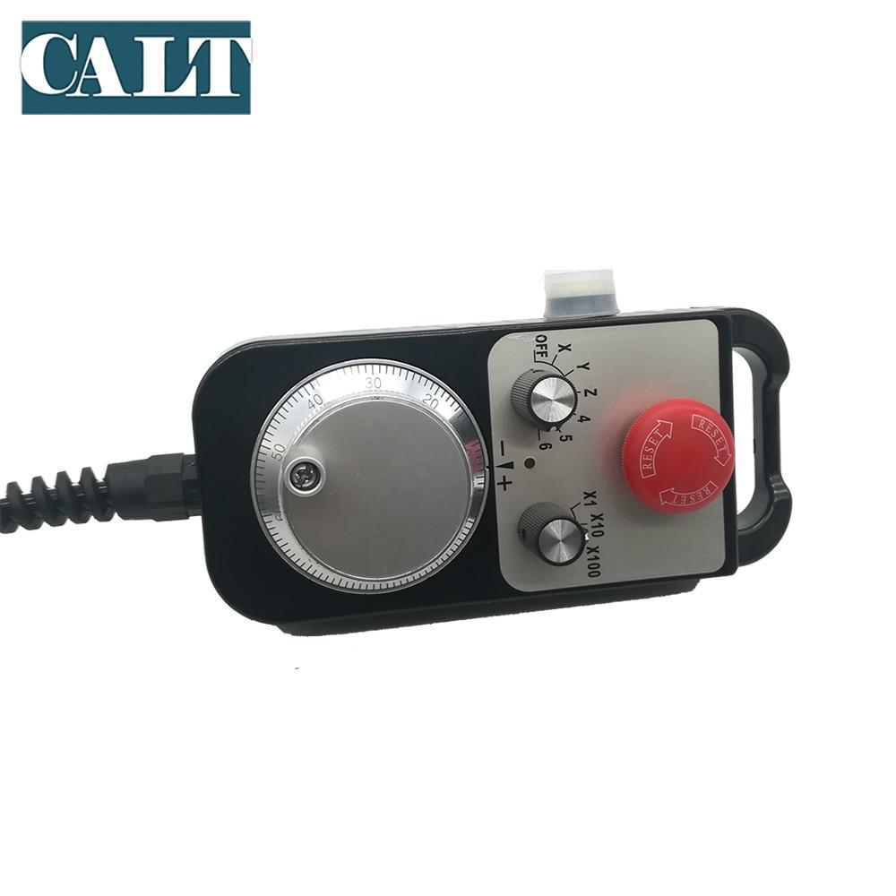 CALT TM1474 100BSL5 станок с ЧПУ ручное колесо MPG 100ppr линейный драйвер напряжение выход 25ppr 142*74 мм ручной импульсный генератор - 6